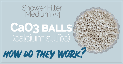 What are CaSO3 Balls (Calcium Sulfite Balls) and How Do They Work in a Shower Filter?