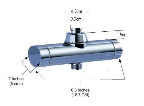 Rainfall Shower Filter Dimensions