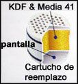 Media 41 patentado y filtro KDF