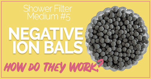 What Are Negative Ion Shower Filter Balls and How Do They Work?