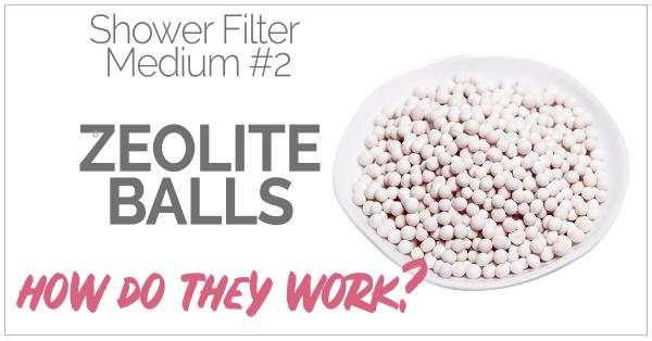 Shower Filter Zeolite Balls