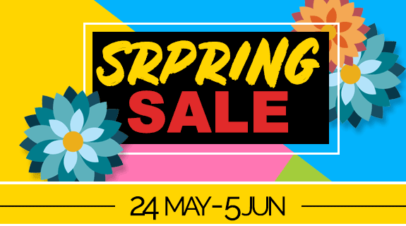 Spring Sale - Exclusive 15% Off Coupon For You - 24th till 6th of Jun