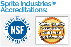 Sprite Industries Accreditations