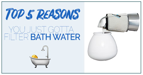 Top 5 Reasons You Must Filter Your Bath Water